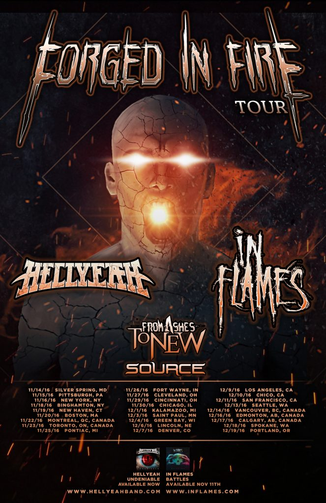 Forged in Fire Tour – Hellyeah In Flames
